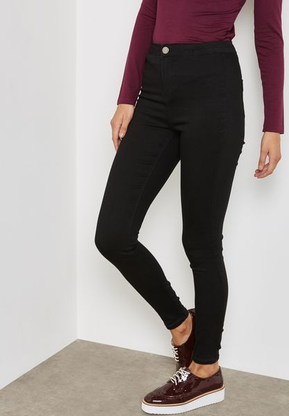 Lyla High Waisted Skinny Jeans