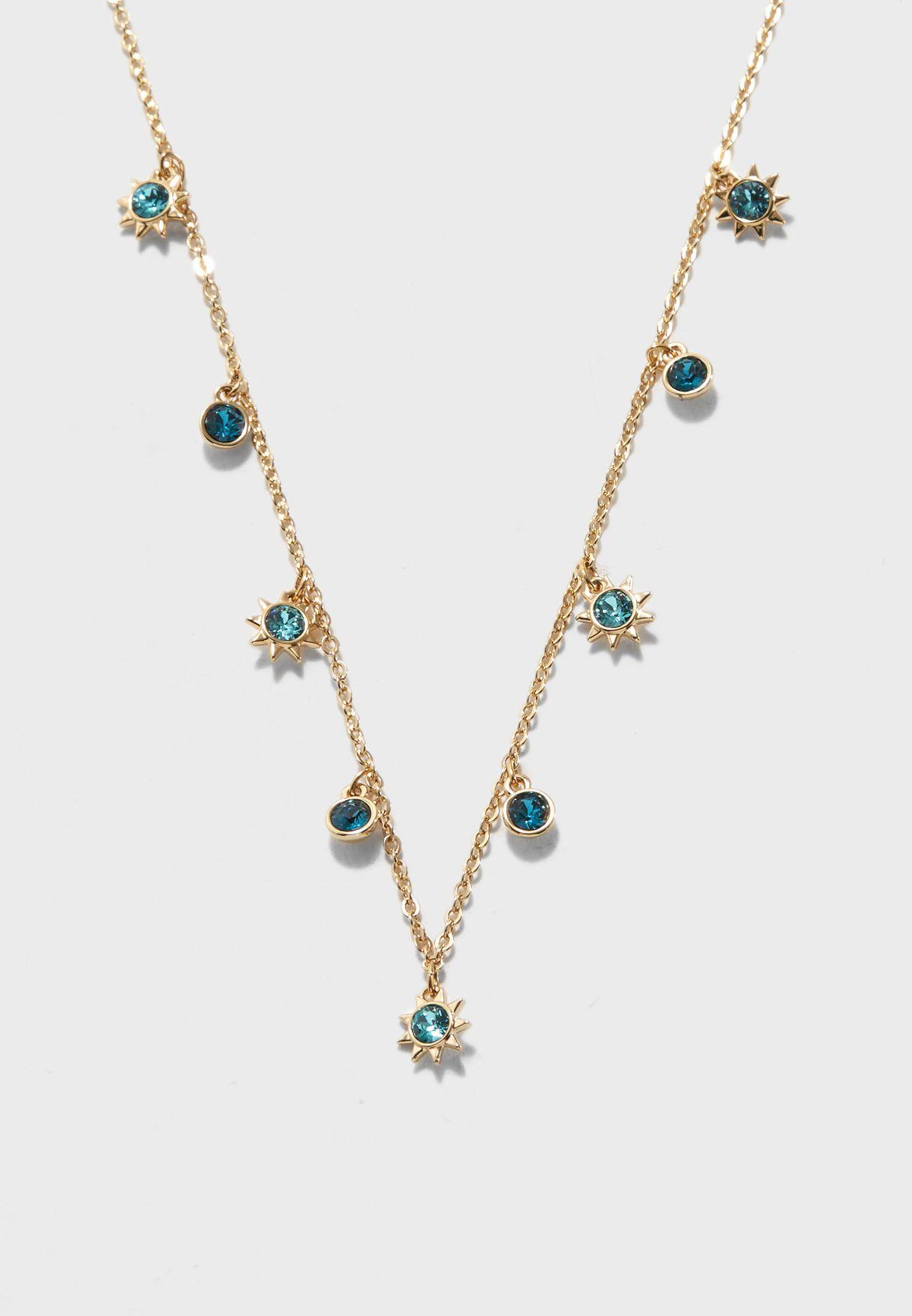 3e303b39f Shop Swarovski gold Last Summer Necklace 5379716 for Women in ...