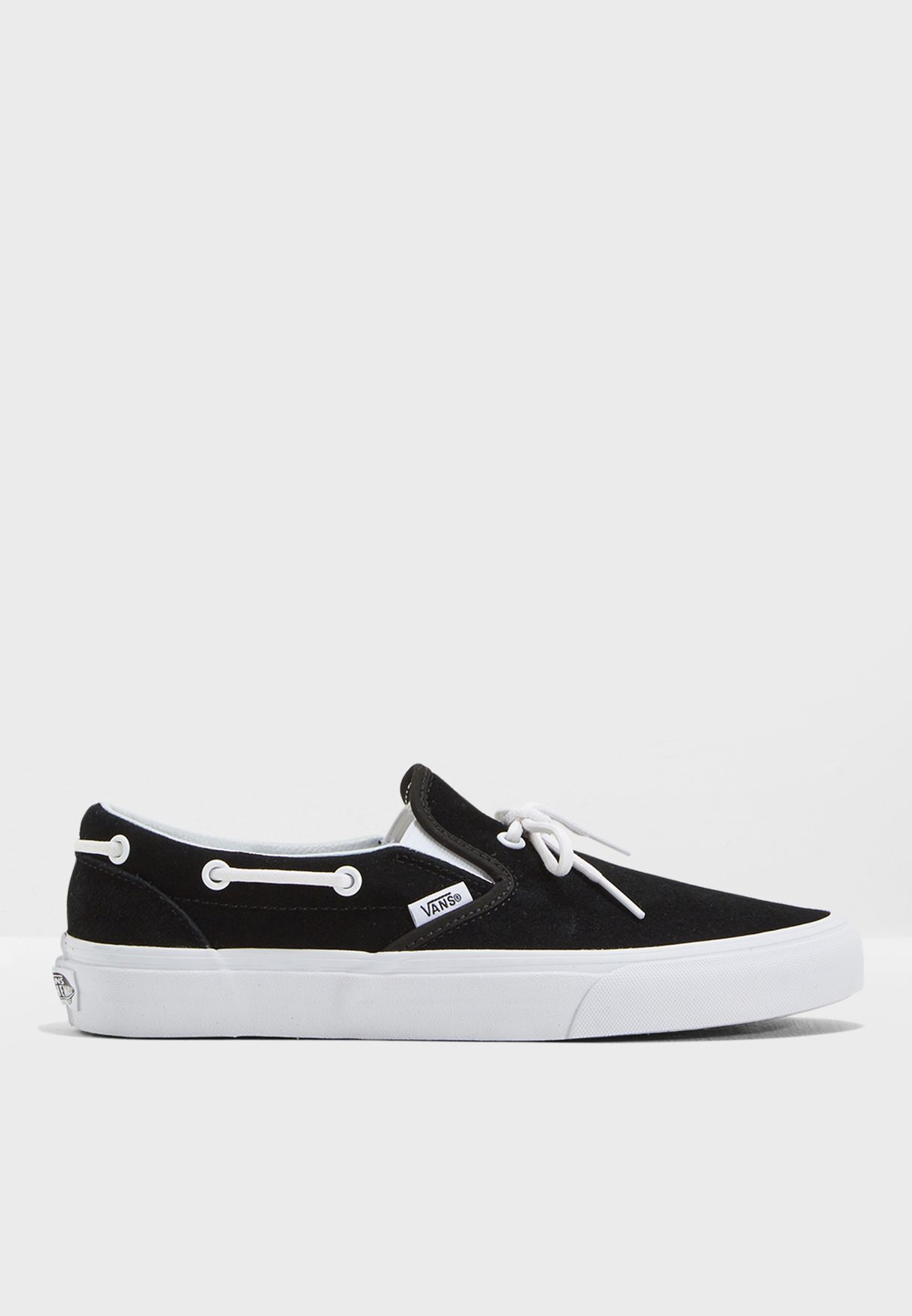 08f1cc3d96 Shop Vans black Lacey 72 Slip Ons MUMQL6 for Women in Globally ...