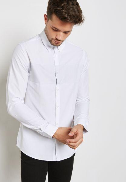 قميص سادة كاجوال