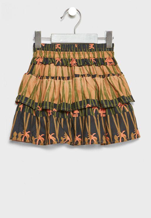 Little Ruffled Skirt