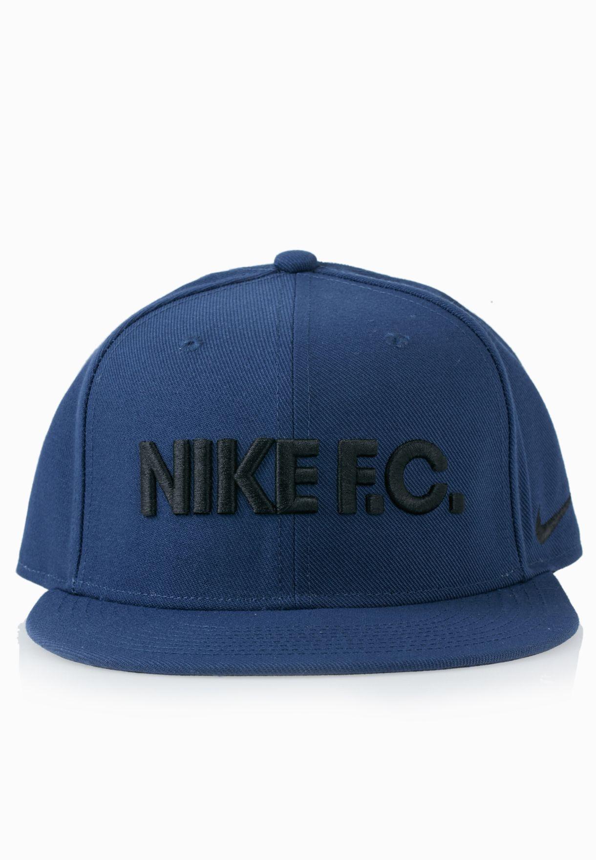 Shop Nike blue F.C. True Snapback Cap 715621-410 for Men in ... 57b3a1a2b01c