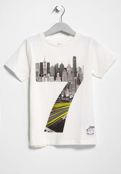 Little N-Print T-Shirt
