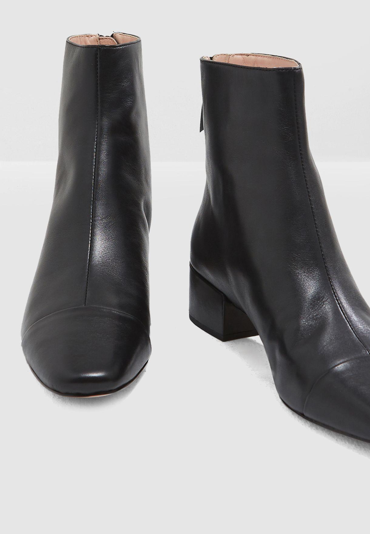 c881c1546e6ca Shop J.Crew black Leona Ankle Boot J9988 for Women in UAE - JC720SH62PGR