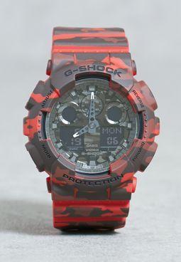 GA-100CM-4ADR Watch