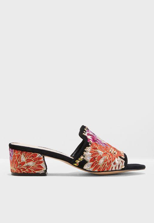 Gypsy Heeled Sandals
