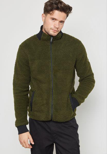 Stone Zip Through Jacket