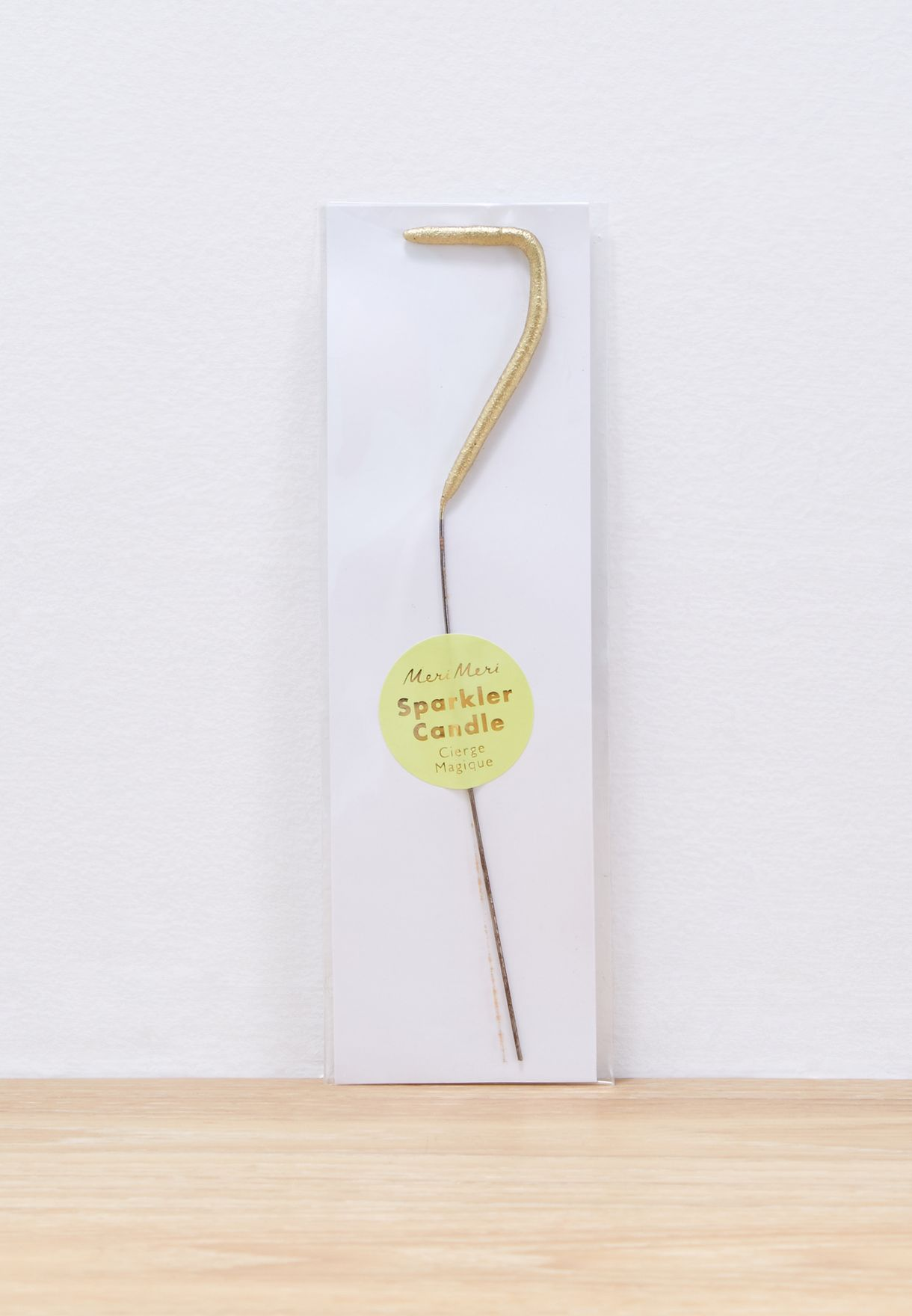 7 Initial Sparkler Candle