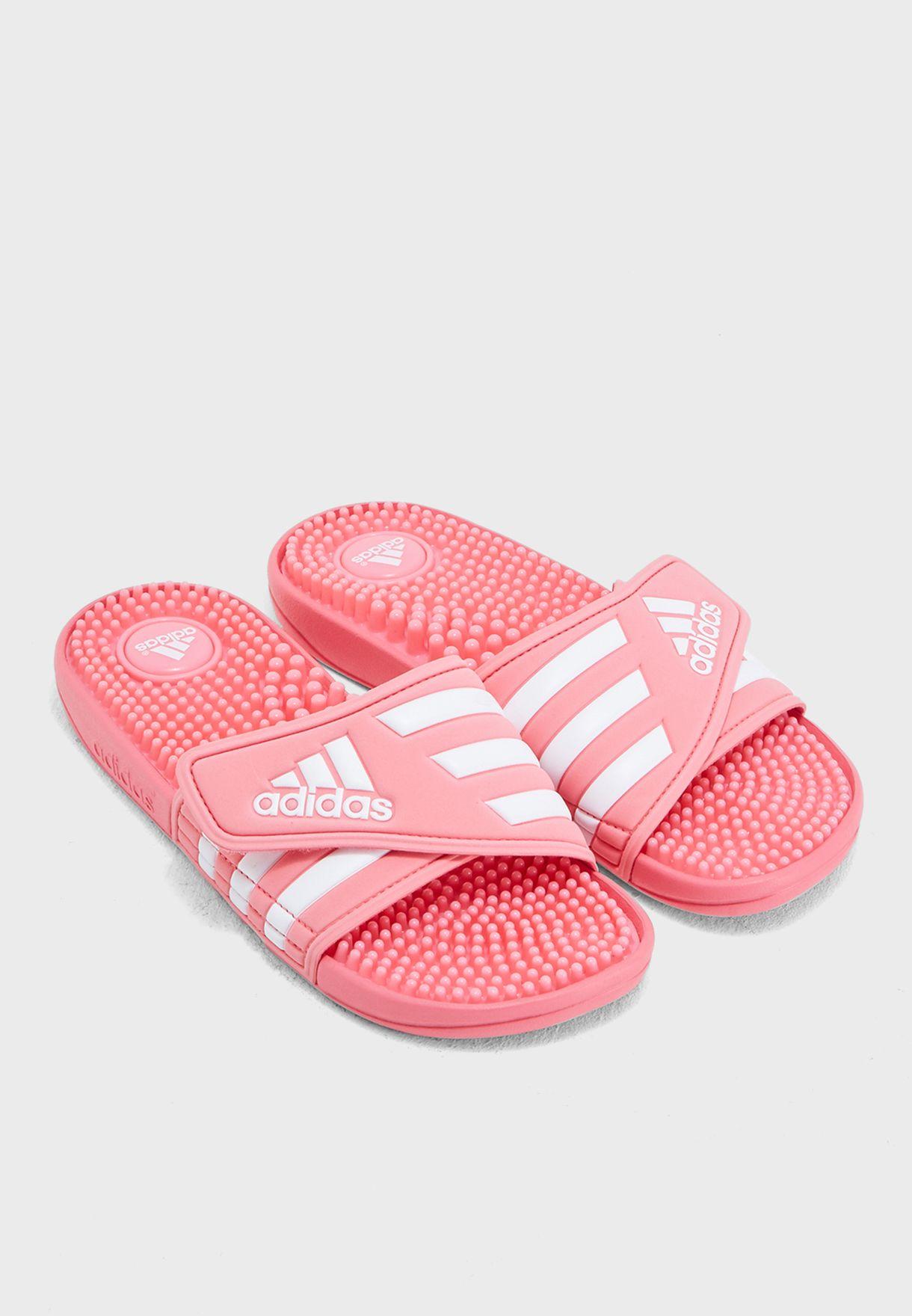 b223f779428a Shop adidas pink Adissage Slides CG3535 for Women in Bahrain - AD476SH62FFD
