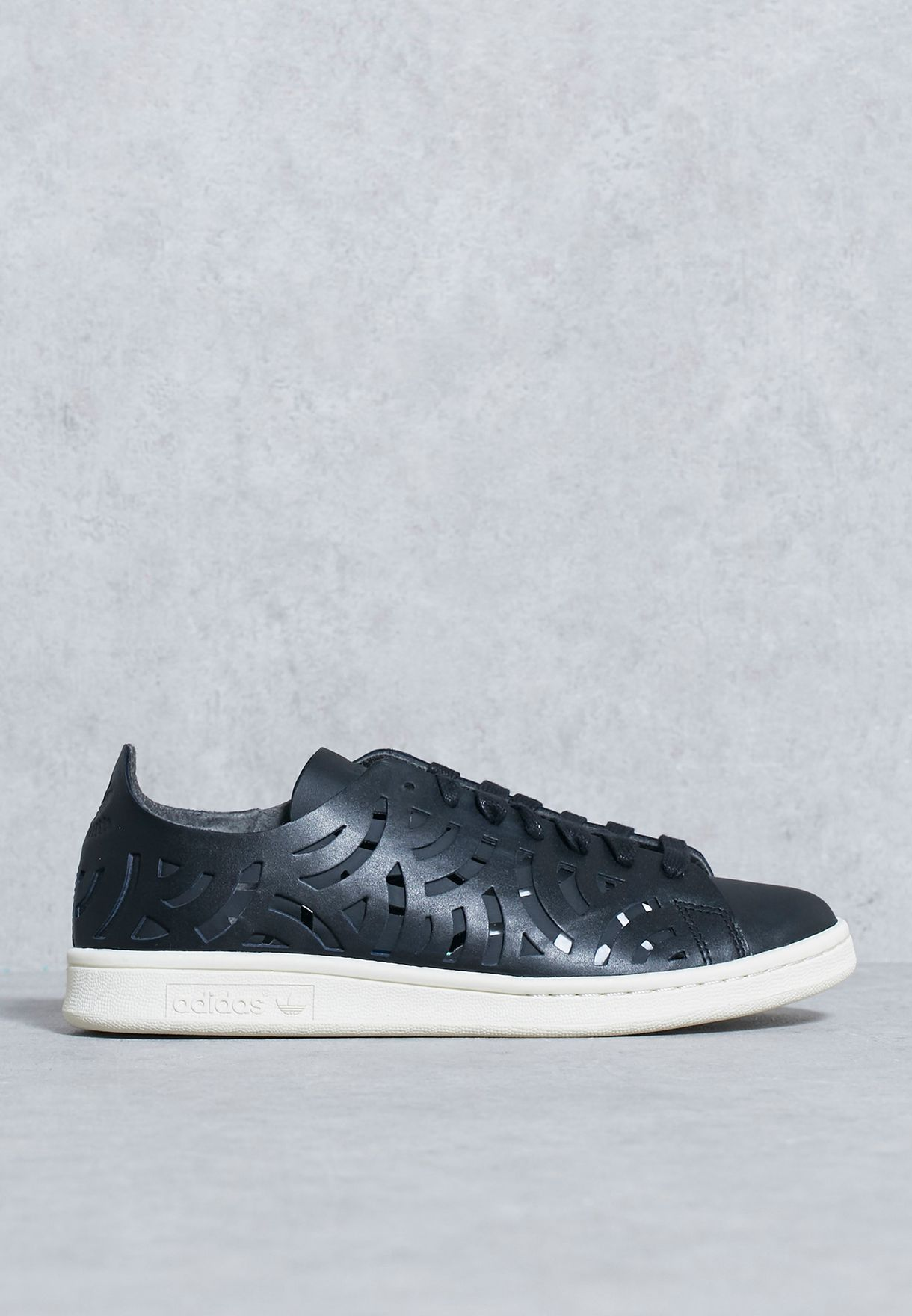 sports shoes 30e11 52400 chic Shop Adidas originals black Stan Smith Cutout W BY2976 for Women in UAE