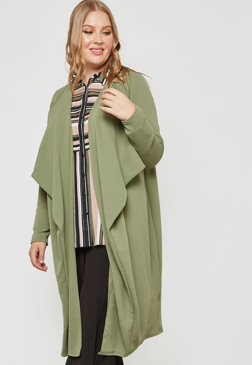 Waterfall Longline Duster Jacket