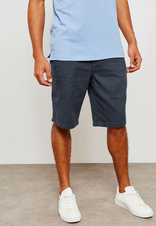 Regular Fit Shorts with Keyring