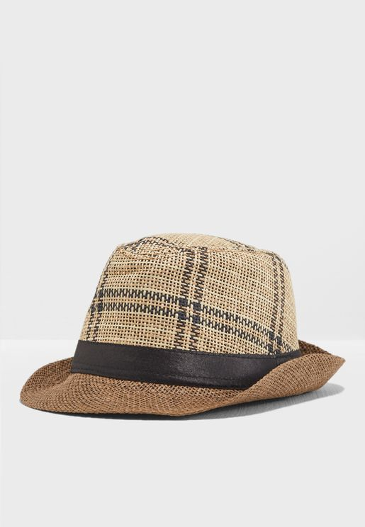 Summer Trilby Printed Hat