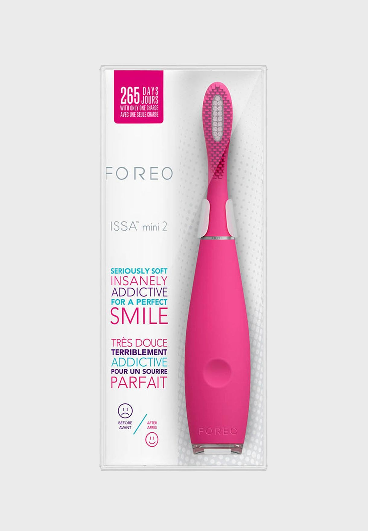 ISSA mini 2 Toothbrush - Wild Strawberry