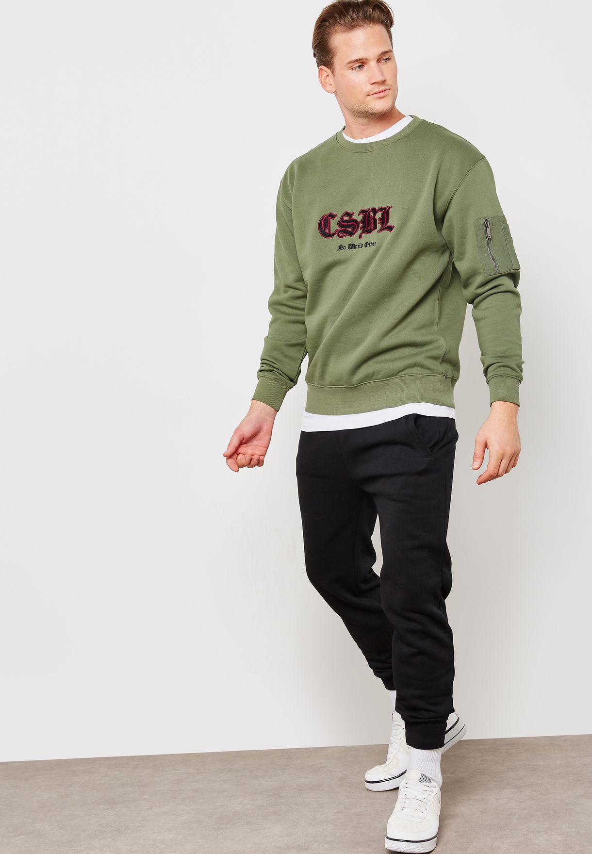 Arise Crew Neck Sweatshirt