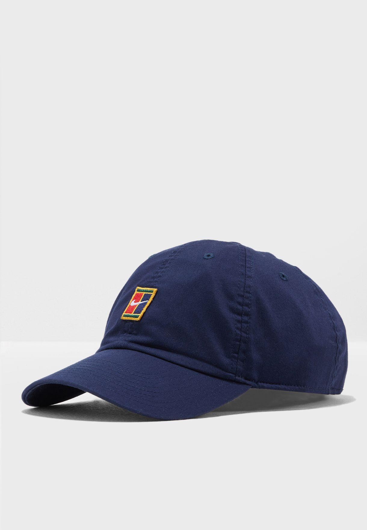 8a5e68b9 Shop Nike navy H86 Court Logo Cap 852184-431 for Men in UAE - NI727AC62HFD