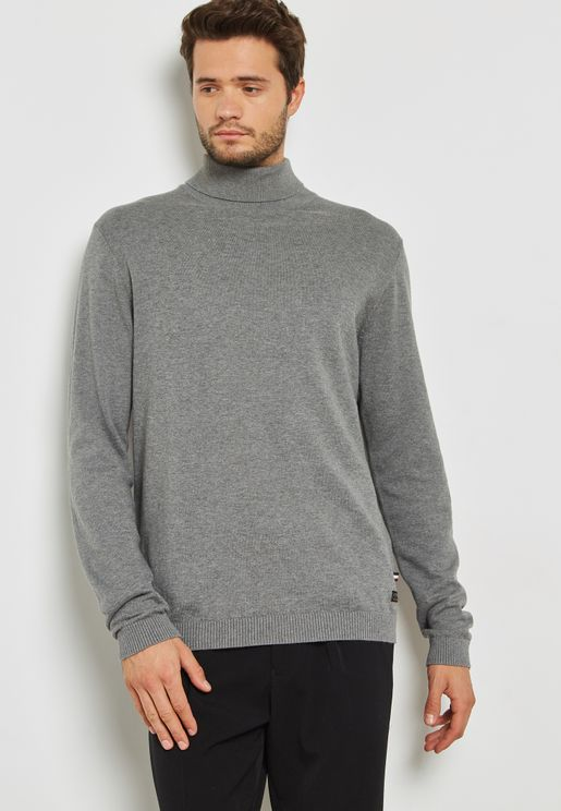Gram Roll Neck Knitted Sweater