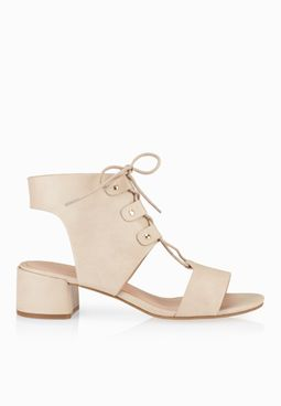 Topshop Dance Lace Up Sandals
