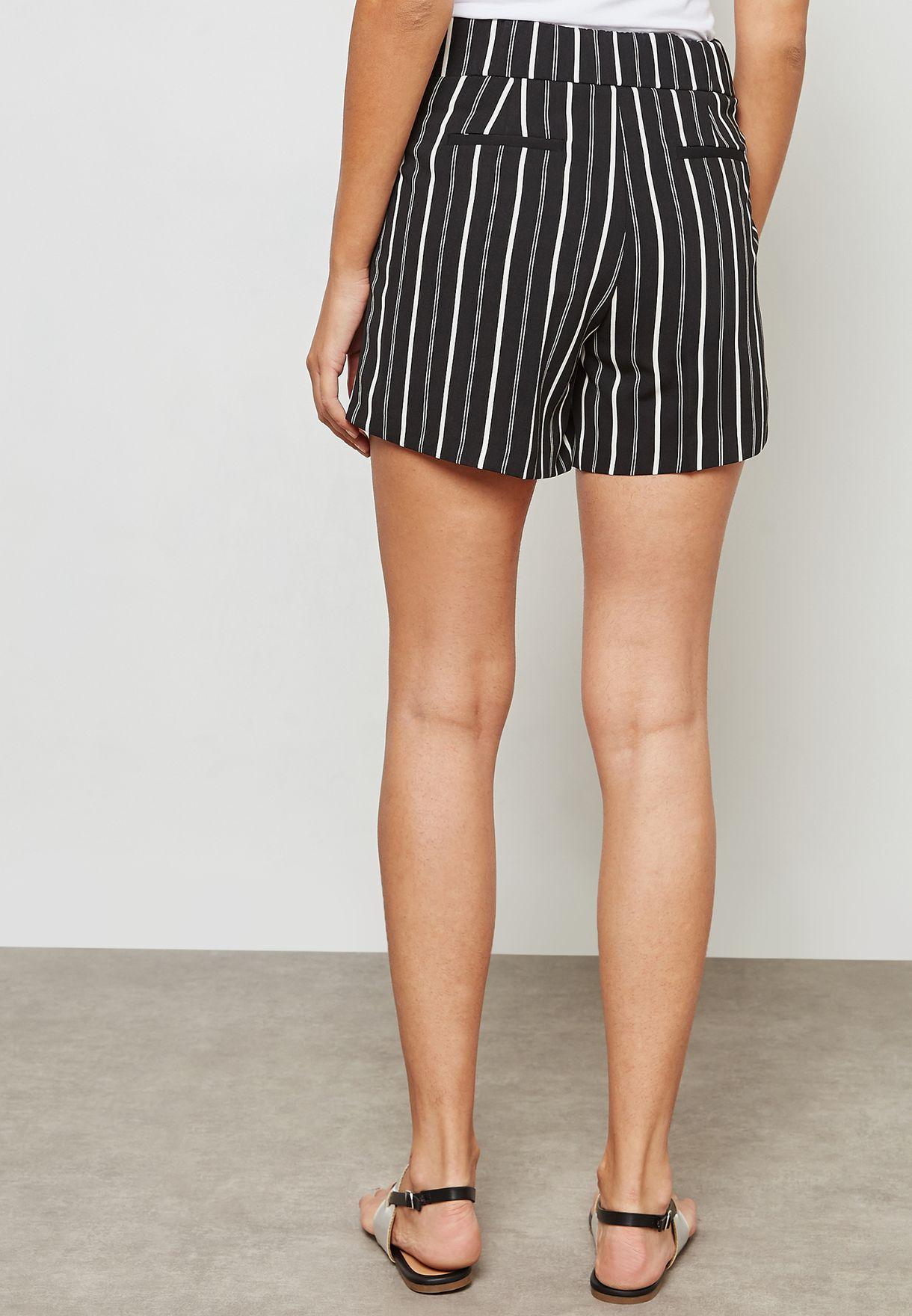 Striped O-Ring Shorts