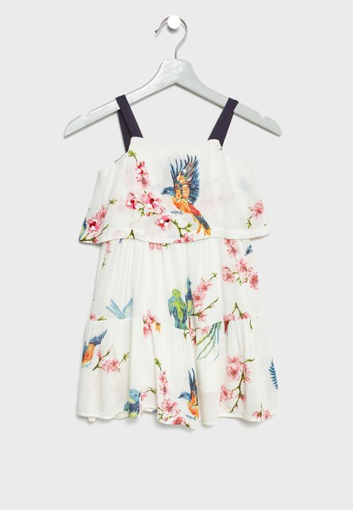Little Amazone Printed Dress