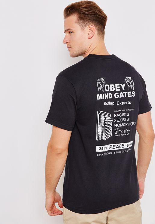 Obey Mind Gates T-Shirt