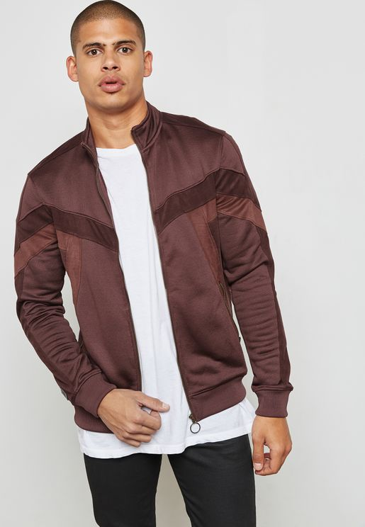 Velour Taping Track Jacket
