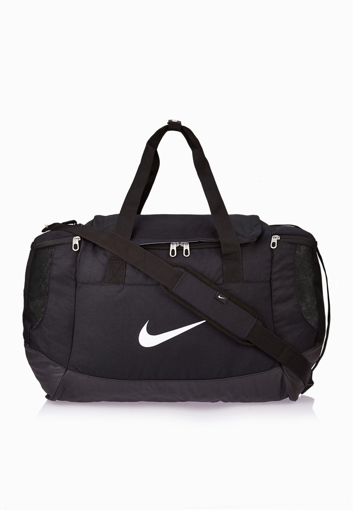 da02b9d7d44cf8 Shop Nike black Medium Club Team Duffel BA5193-010 for Men in UAE ...