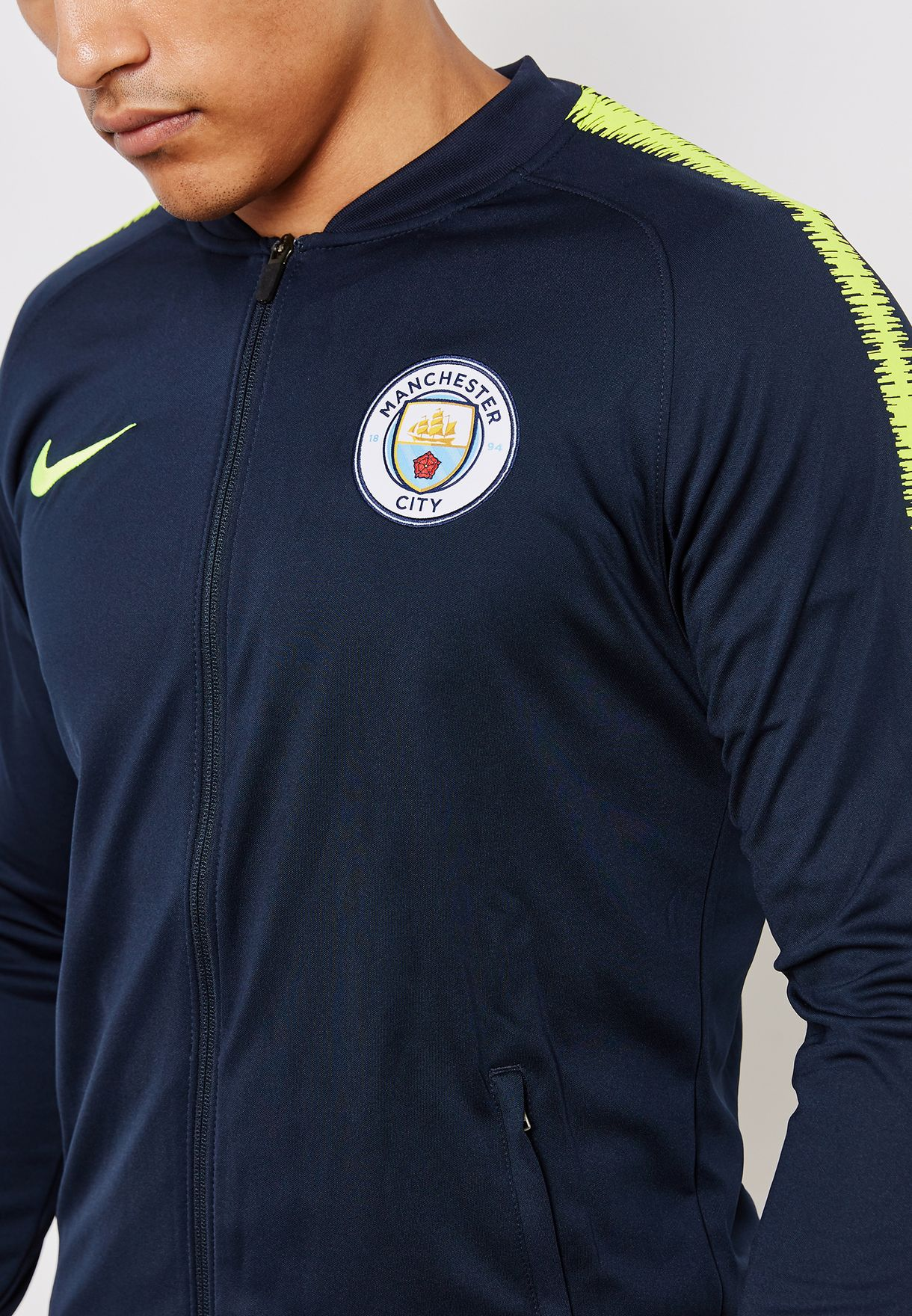 new styles 0df32 90555 Manchester City Squad Track Jacket