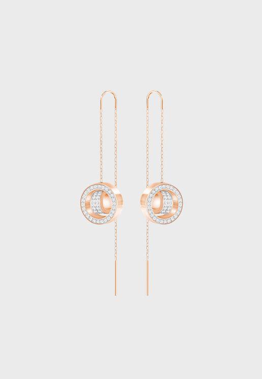 Hollow Rock Chic Earrings