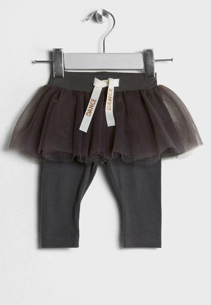 Infant Tulle Skirt + Leggings Set