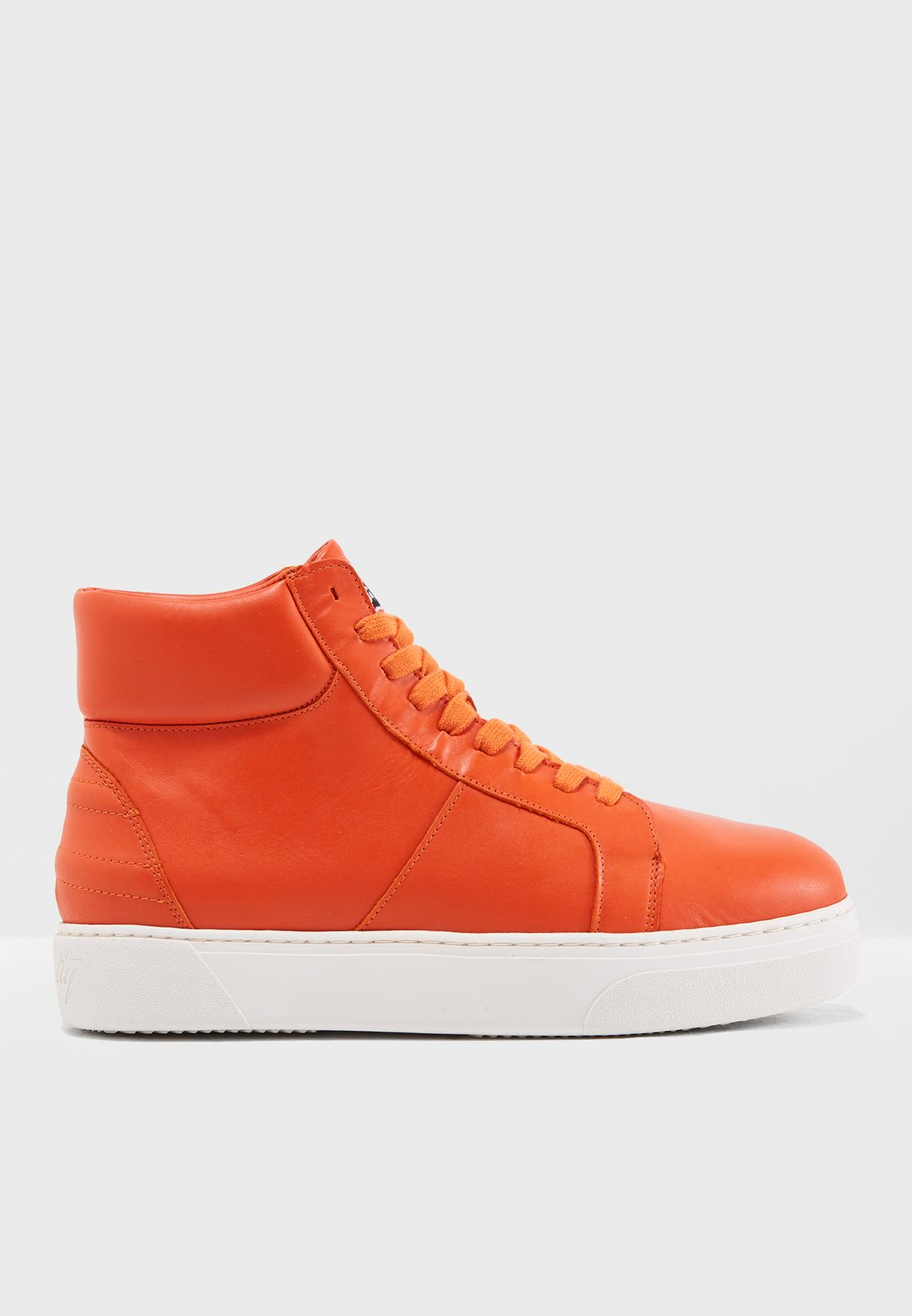 6b3f6ec837da1b Shop Tommy Hilfiger orange Lewis Hamilton Hybrid High Top ...