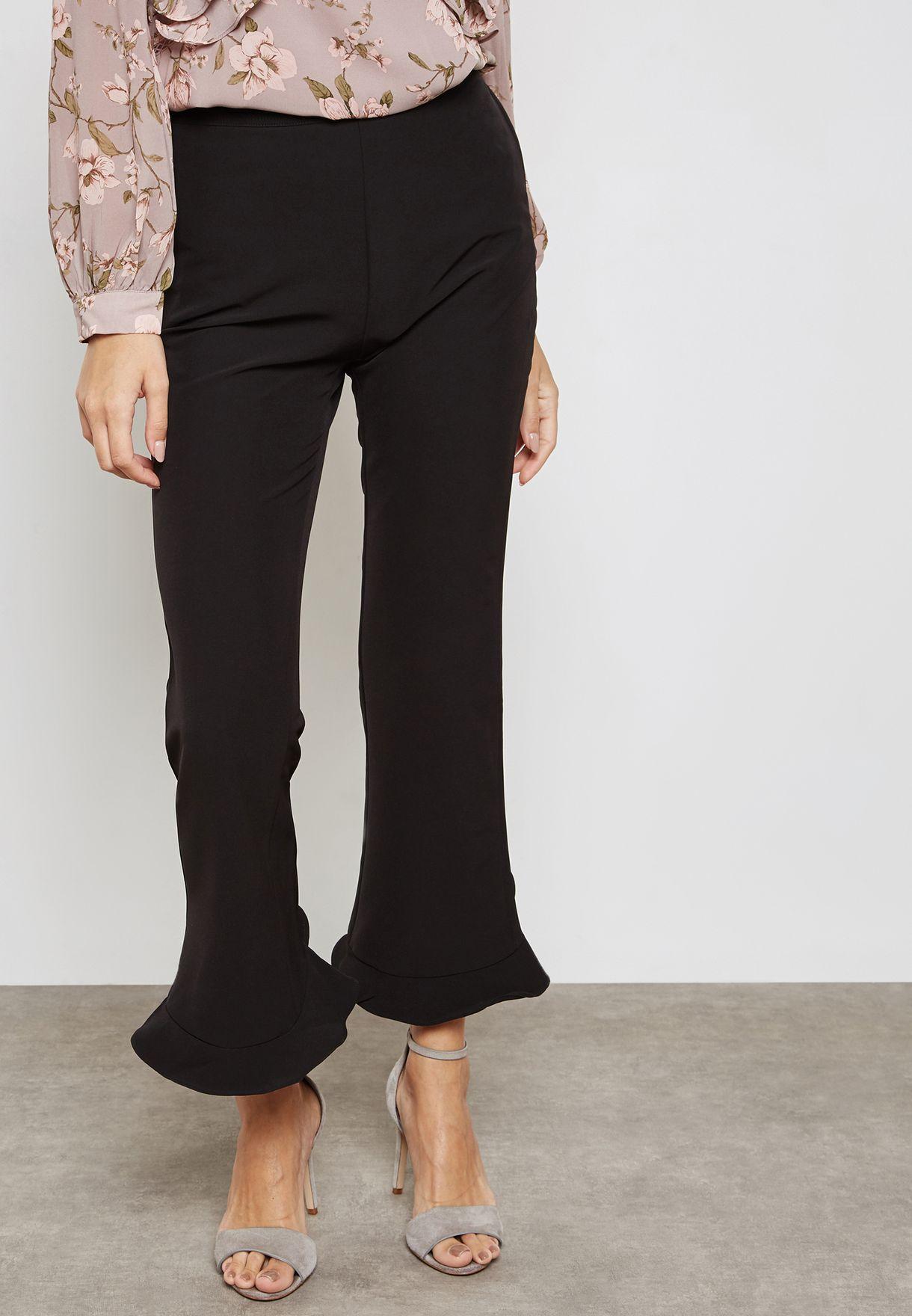 Boot Leg Crop Pants