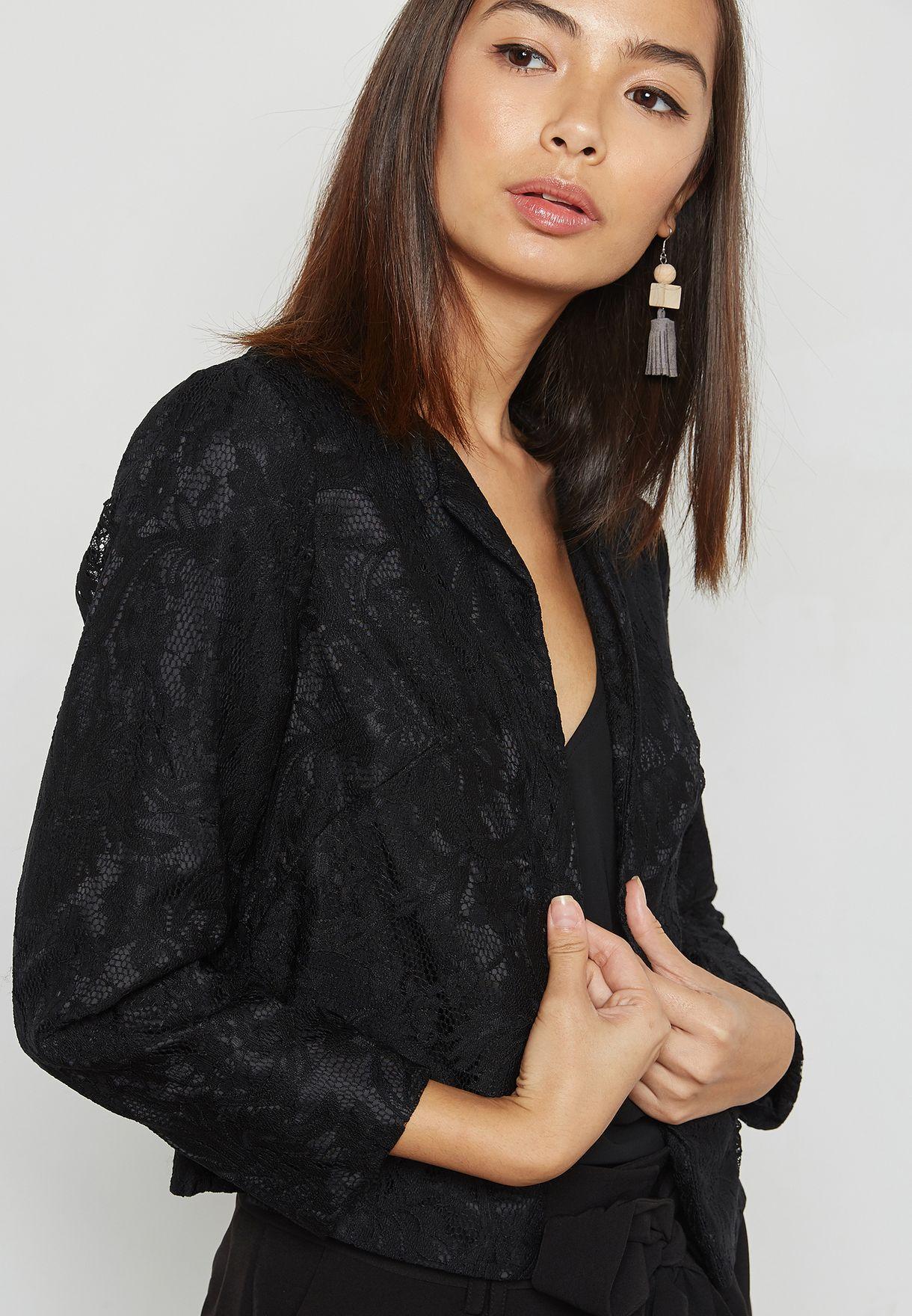 Lace Crop Jacket