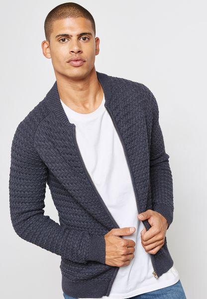 Hnn Zipped Cardigan