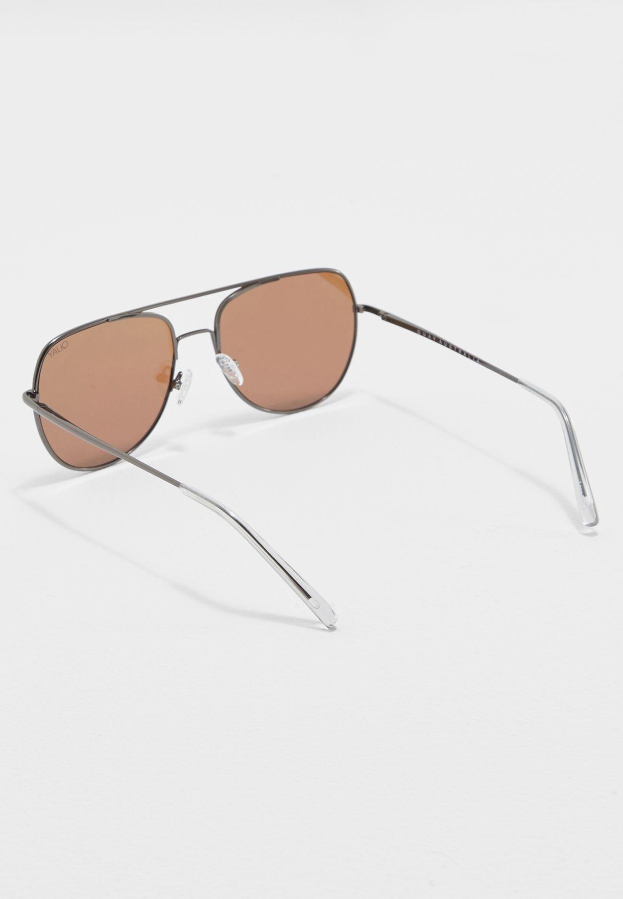 7d648621a2 Shop Quay Australia grey Living Large Sunglasses QM-000200 for Men ...
