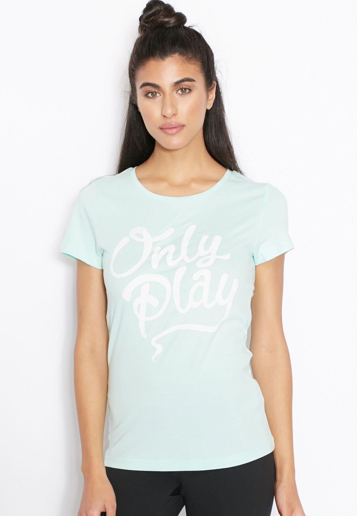 6d913777 Shop Only play green Dyann T-Shirt for Women in Qatar - ON607AT52TAT