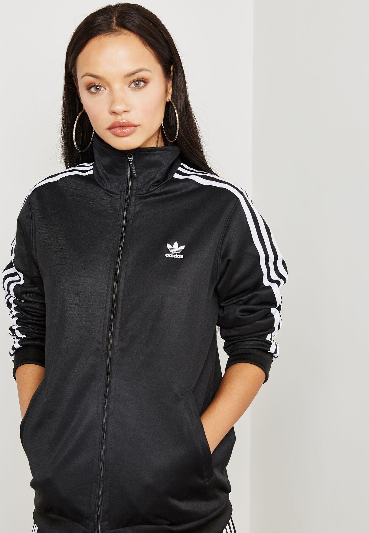 4922357f0309 Shop adidas Originals black adicolor Beckenbauer Track Jacket DH3192 ...