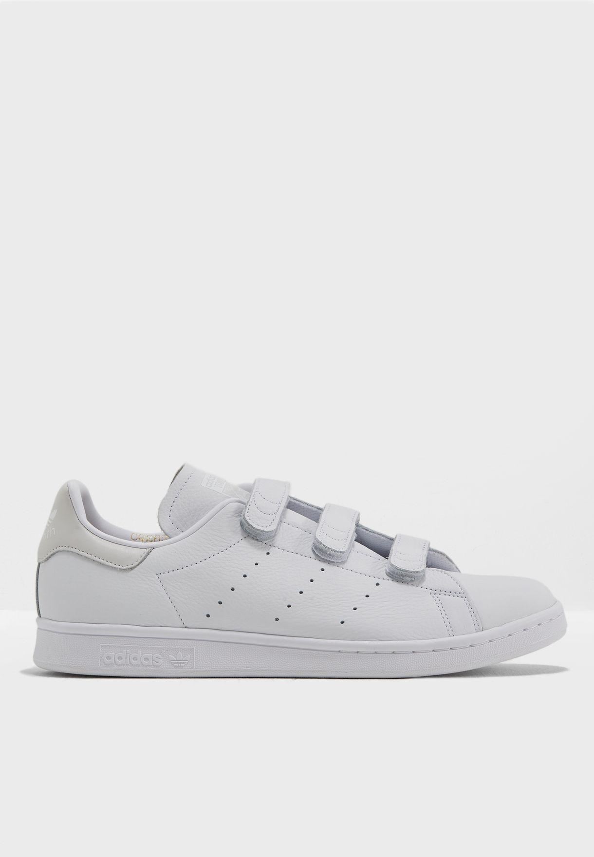 fb0d2d5df37eff Shop adidas Originals white Stan Smith CF CQ2632 for Men in Saudi ...