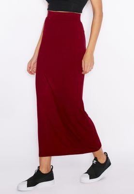 Ginger Elasticated Maxi Skirt