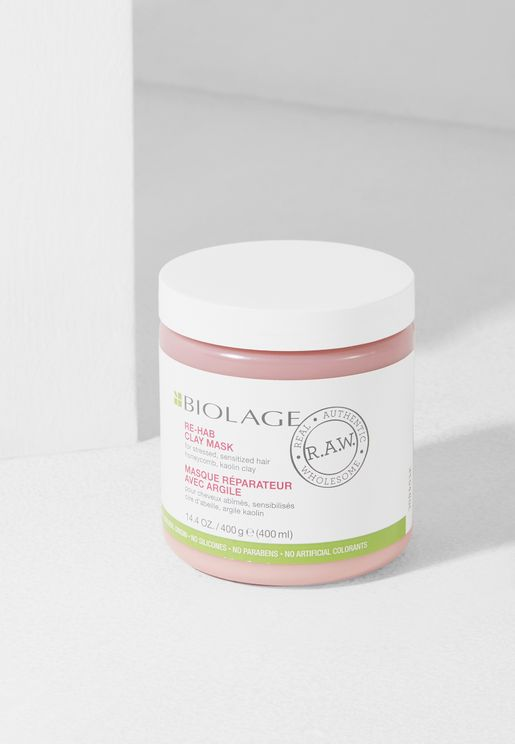 Biolage RAW Rehab Mask 400ml