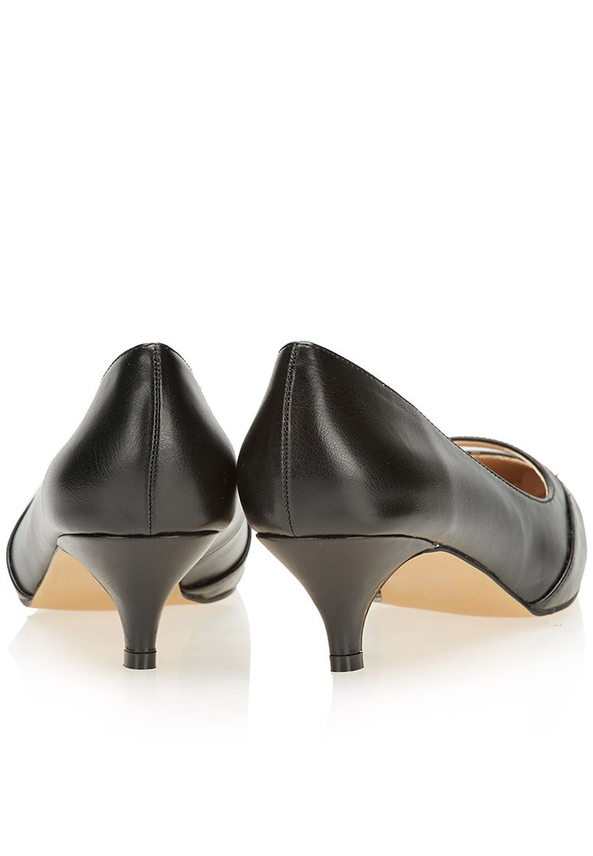 Shop Daniella Michelle Black Zarra Pointed Toe Pumps For Women In New Kids