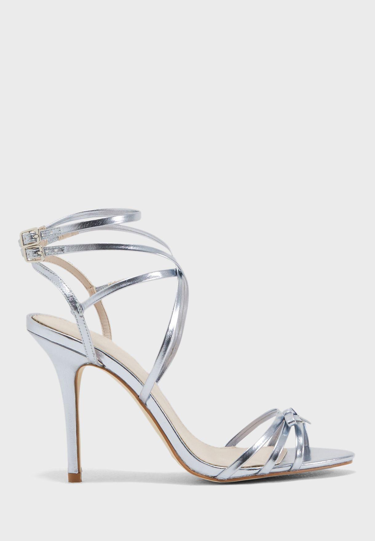 5c15d824f39 Shop Forever New blue Olena Slim Bow Strappy Sandal SE3449 for Women in  Saudi - FO112SH52OKD