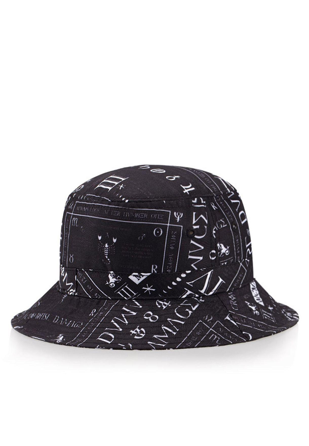 031080f2fa983 Shop Criminal Damage black Script Bucket Hat for Men in UAE ...