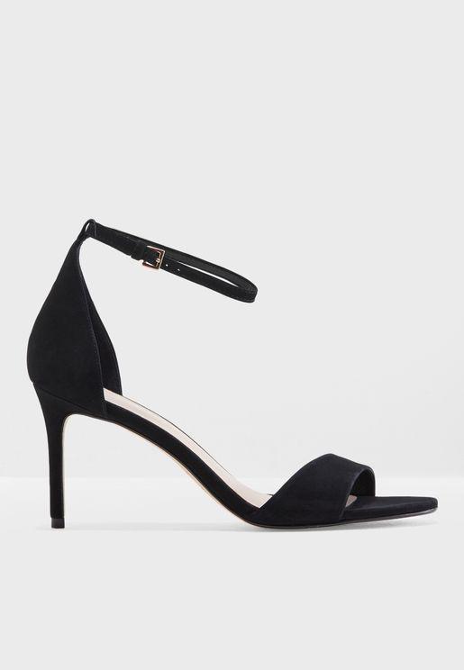 Glimmering Heel Sandal