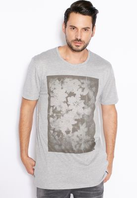 Only & Sons Marble Print T-Shirt