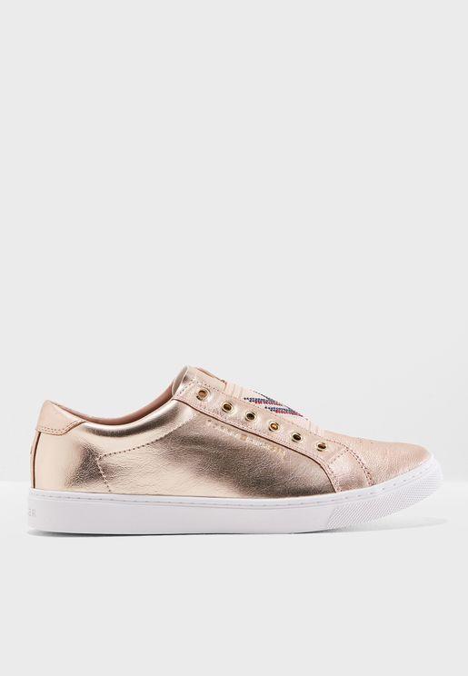 Stud Elastic Sneaker