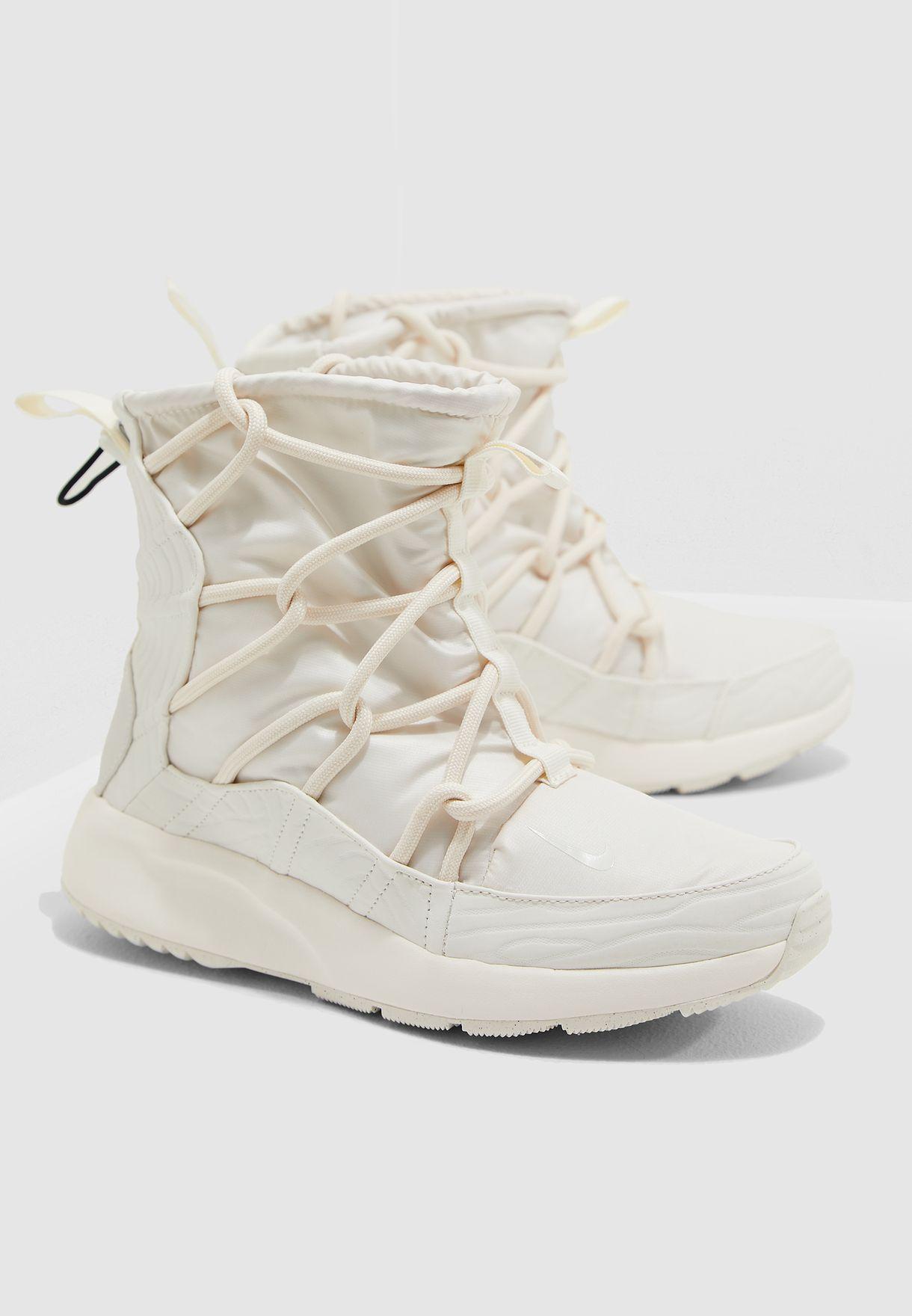 Shop Nike white Tanjun High Rise AO0355-003 for Women in UAE ... b6e70c797