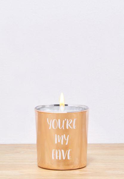 Slogan Gift Candle