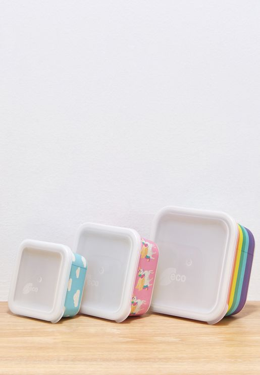 3 Pack Wonderland Nesting Lunch Boxes