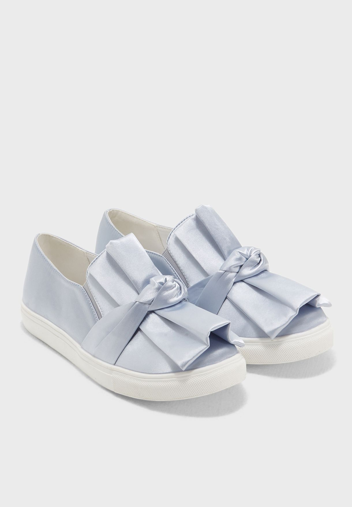 SAPHRE Knotted Bow Slip On